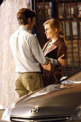 Alison Lohman - Drag me to Hell on set