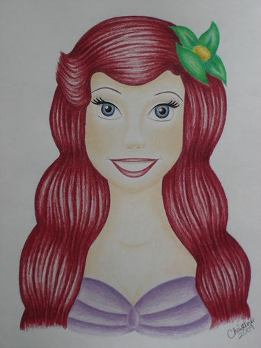 Ariel wallpaper entitled Ariel drawing!