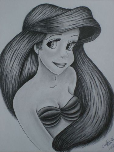 Ariel wallpaper called Ariel drawing!