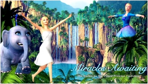 Barbie as the island princess wallpaper entitled Barbie as the island princess