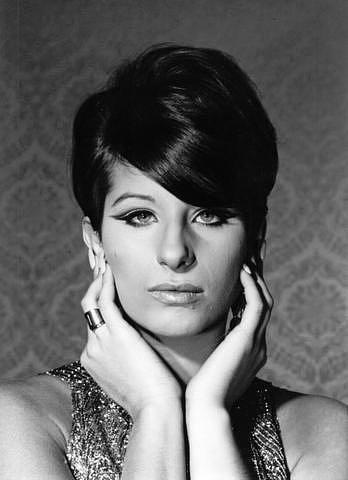 Barbra Streisand wallpaper probably with a bouquet, a portrait, and skin called Barbra Streisand