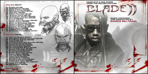 CD of blade II - blade Photo