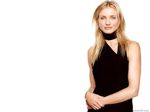 cameron diaz fondo de pantalla possibly with a cóctel, coctel dress, a chemise, and a chemise titled Cameron