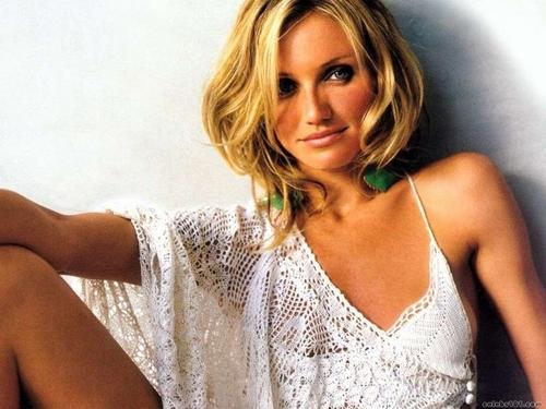 cameron diaz wallpaper probably containing a portrait titled Cameron