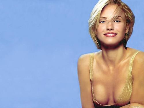 Cameron Diaz wallpaper with attractiveness, a portrait, and skin titled Cameron