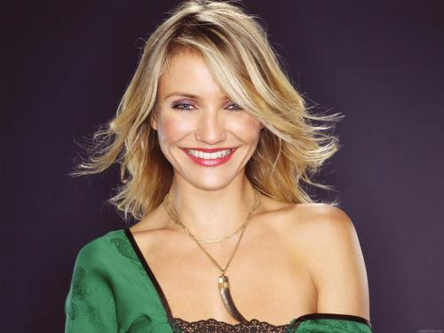 Cameron Diaz karatasi la kupamba ukuta containing attractiveness and a portrait entitled Cameron