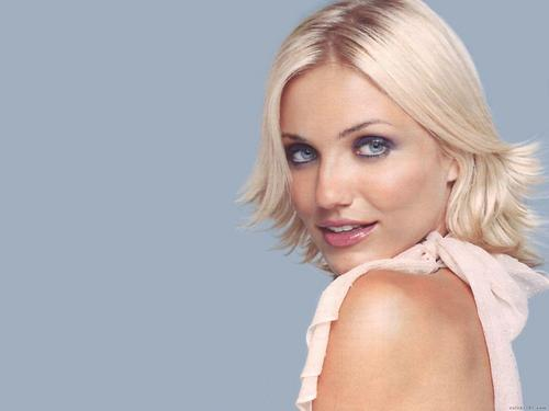 Cameron Diaz Hintergrund with a portrait called Cameron