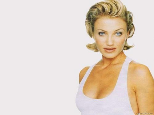 Cameron Diaz fond d'écran probably with a portrait entitled Cameron
