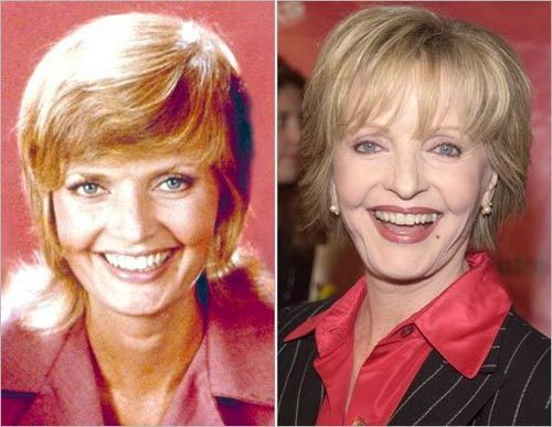Carol Brady....Then and Now