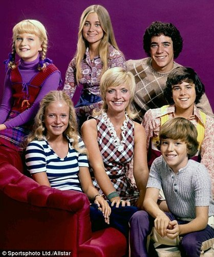 Carol Brady and the Kids