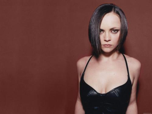 Christina Ricci karatasi la kupamba ukuta possibly with a bustier and attractiveness entitled Christina Ricci