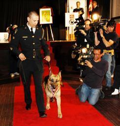 Constable Shawn Campbell and Ki