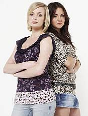 Danielle Jones and Stacey Slater