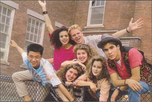 Degrassi Junior High wallpaper containing a street entitled Degrassi High Gang