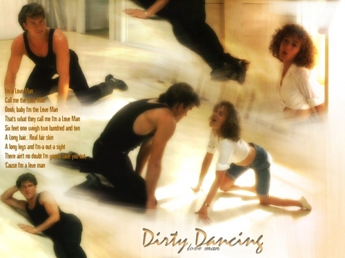 Dirty Dancing wallpaper probably containing a portrait titled Dirty Dancing