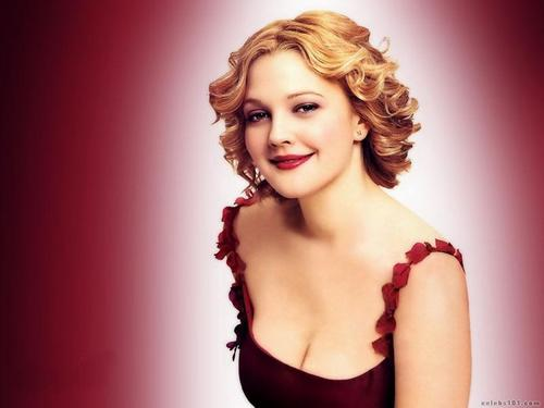 Drew Barrymore wallpaper probably containing attractiveness and a portrait called Drew