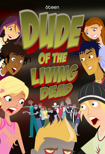 Dude of the living dead poster