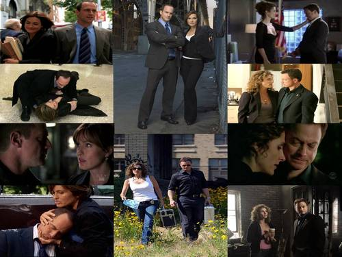 Elliot and Olivia wallpaper possibly with a street, a green beret, and a well dressed person called E/O and Smacked