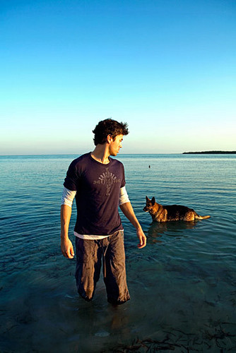 Enrique and his dog