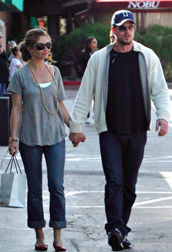 Eric Dane and Rebbeca