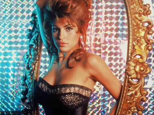 eva mendes wallpaper possibly containing a chainlink fence called Eva Mendes