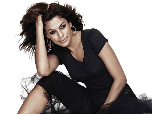 Eva Mendes wallpaper probably with attractiveness and a portrait titled Eva Mendes