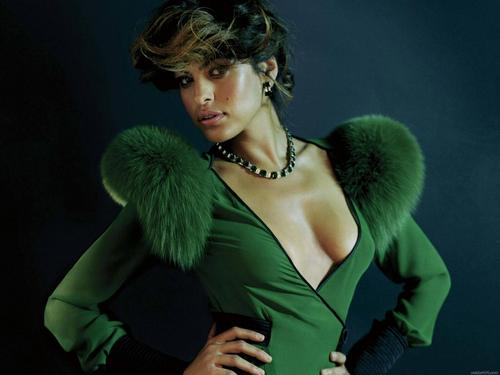 Eva Mendes wallpaper probably containing tights, a well dressed person, and a leotard called Eva Mendes
