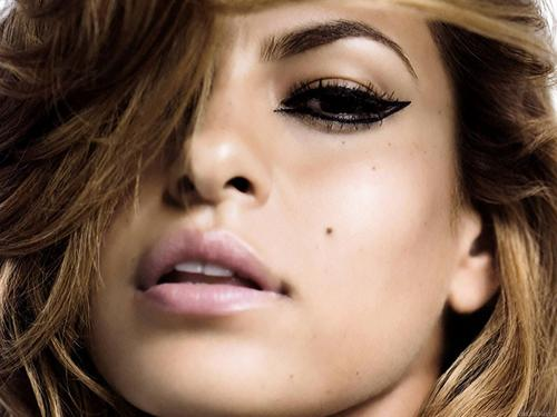 Eva Mendes wallpaper containing a portrait titled Eva Mendes