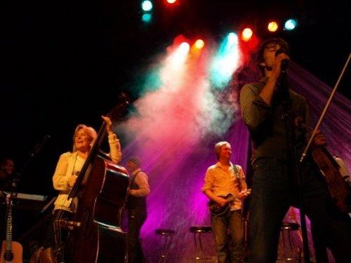 Fittler konser with Elisabeth Adreassen