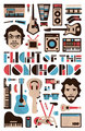 FotC Poster Contest Winner - flight-of-the-conchords fan art