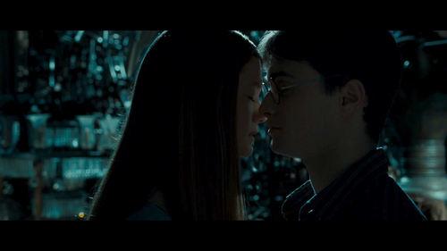 Harry Ginny Kiss HBP