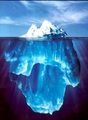 Iceberg - water photo