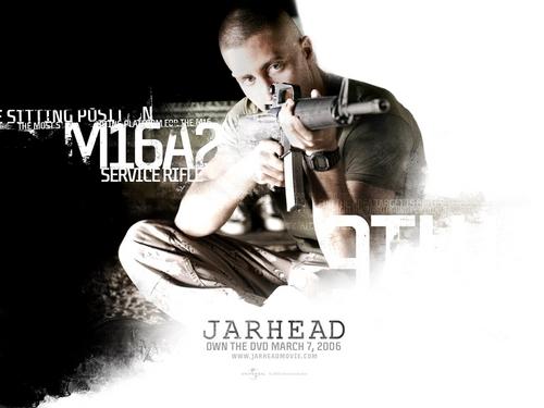 Jake Gyllenhaal in Jarhead