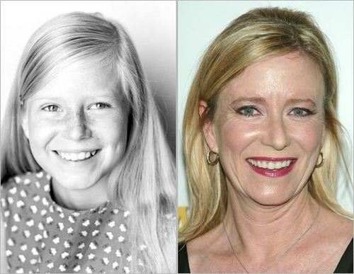 The Brady Bunch images Jan Brady...Then and Now wallpaper and background photos