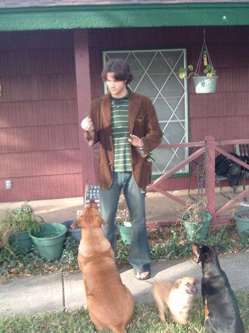Jared & His perros <3