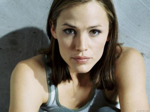 詹妮弗.加纳 壁纸 containing a portrait called Jennifer Garner