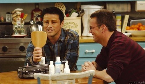 Joey & Chandler 바탕화면 called Joey's eyebrows 의해 Chandler