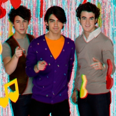 Jonas Brothers - 3D pics, Tiger Beat