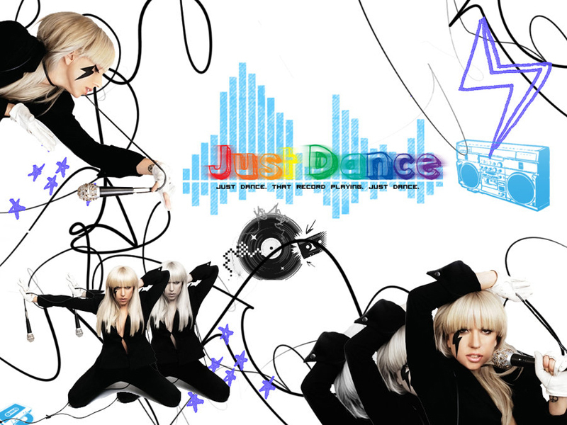 Just Dance - lady-gaga wallpaper
