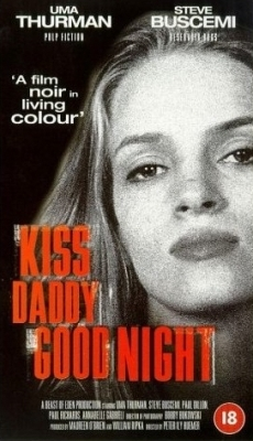 Uma Thurman wallpaper containing anime and a portrait called Kiss Daddy Goodnight