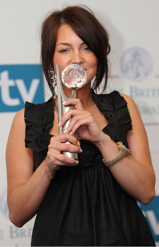Lacey at the British Soap Awards