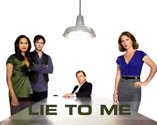 Lie to Me wallpaper containing a business suit titled Lie to Me Wallpapers
