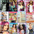 Magazine Collage - womens-magazines photo