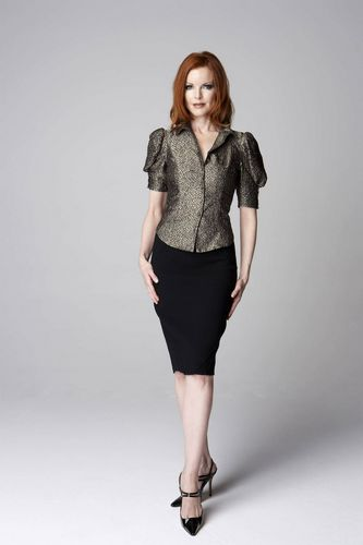Desperate Housewives wallpaper with a hip boot, a legging, and an outerwear called Marcia Cross