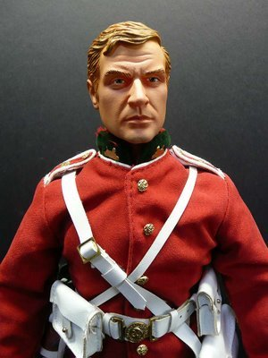 Michael Caine Action Figure From Zulu