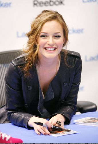 plus photos of Leighton from Reebok Launch