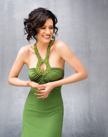 Paget Brewster wallpaper probably containing a cocktail dress entitled Paget Brewster
