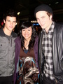 Rob and Taylor in Vancouver - twilight-series photo