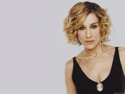 sarah jessica parker wallpaper probably containing attractiveness and a portrait titled Sarah Jessica Parker