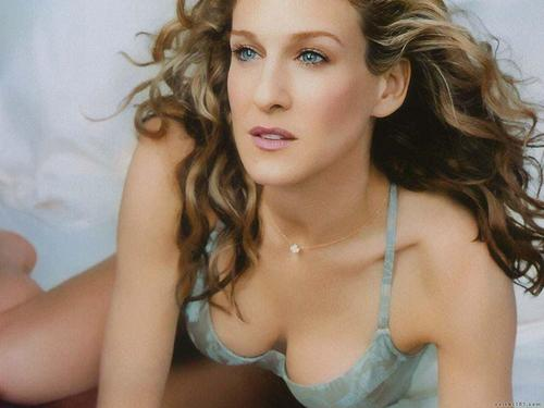 Sarah Jessica Parker wallpaper with attractiveness, a portrait, and skin titled Sarah Jessica Parker
